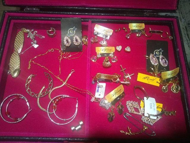 Semi jóias folhadas - Foto 2