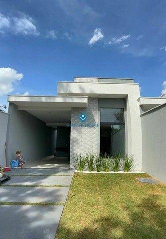 Belíssima Casa Térrea Moderna,Valor R$ 395.000,00, jardim  Mariliza, Goiânia  Há Poucos Mi