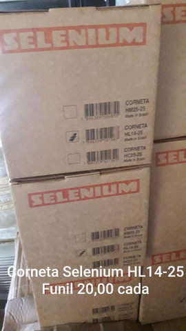 Corneta Selenium HL-14 25 funil