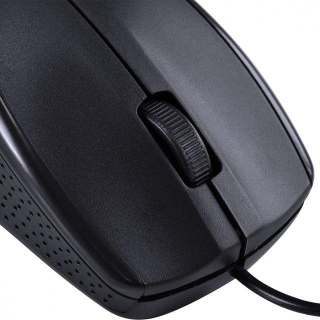 mouse optico corp 1000 dpi cabo usb 1.8m preto - cm100 - Foto 5