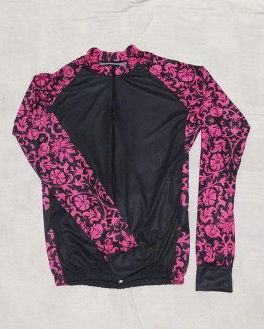 Camisa Camiseta Roupa Feminina Bike! MTB Esporte Bicicleta Ciclismo Dry Fit - Foto 4