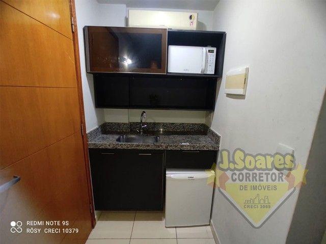 Cabo Branco,  Flat Beira mar, 33m², R$ 1.800, Aluguel, João Pessoa, Paraíba - Foto 6