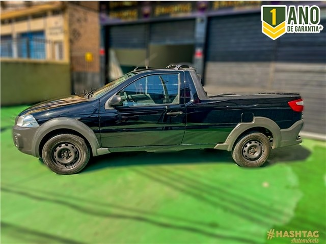 Fiat Strada 2018 1.4 mpi hard working ce 8v flex 2p manual - Foto 3
