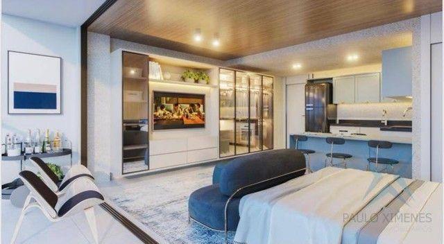 Apartamento compacto à venda, 37 m² por R$ 322.000 - Engenheiro Luciano Cavalcante - Forta - Foto 6