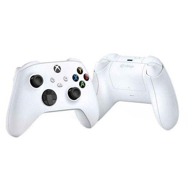 Controle Sem Fio Xbox Series Robot White, ou 12X R$ 36,89 - Foto 3