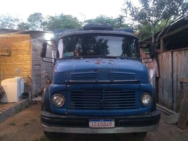 Caminhão 1113 truk vendo$35,000 ou troco por caminhão bau - Foto 2