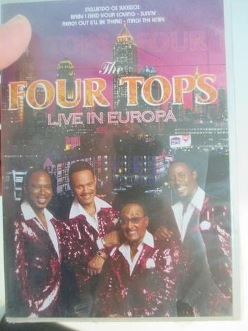 Four Tops - Live in Europa novo, lacrado de fábrica - Foto 5