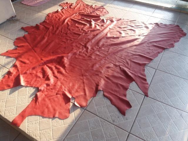 Torrooooo Couro legítimo vermelho e azul - Foto 6