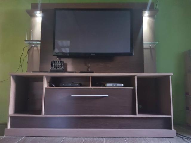 Estante para TV + TV 43