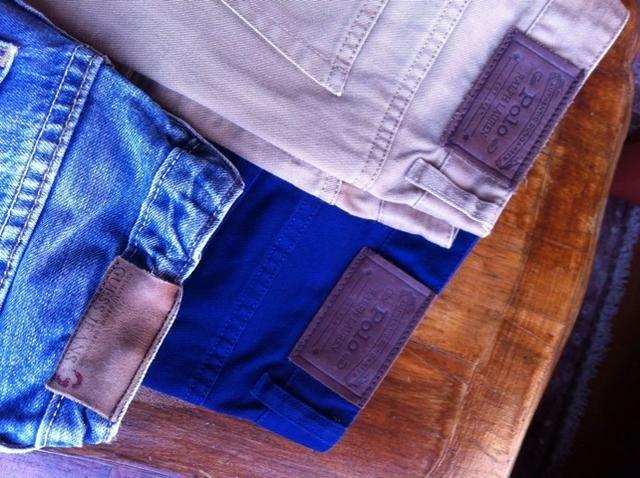 6fcaf3417 Lote 3 calças Importadas Originais - Super Oferta - Slim - Roupas e ...