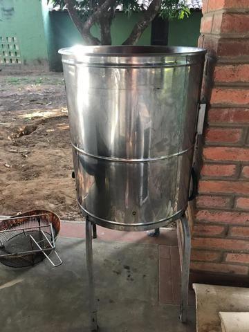 Fritadeira Industrial Metvisa água e óleo