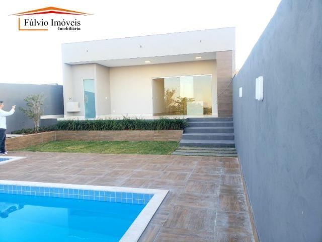 Maravilhosa casa aos pés do Park Way, 3 quartos, churrasqueira e piscina! - Foto 17