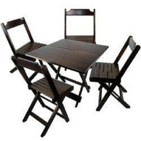 Linha dobrável mesas e cadeiras - Bares e Restaurantes - Foto 4