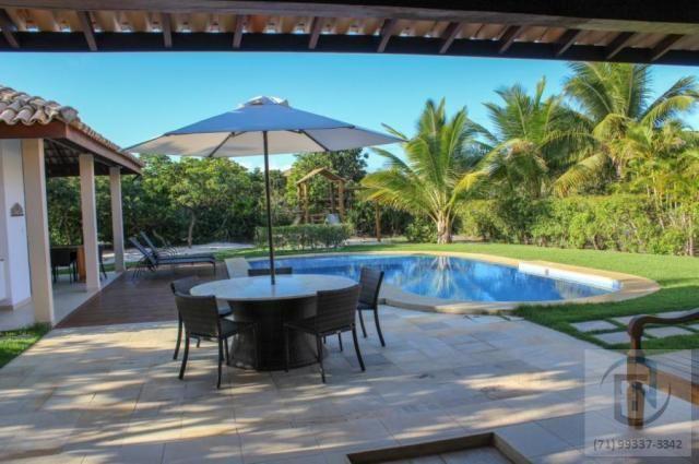 Casa em condomínio para venda em mata de são joão, costa do sauípe, 4 dormitórios, 4 suíte - Foto 12