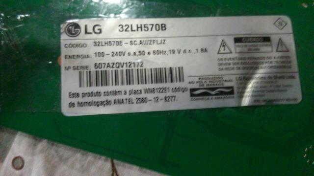 Placa principal TV LG 32LH570B - Foto 2