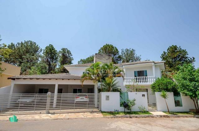 Casa com 5 suítes em condomínio. aceita permuta por apartamento. linda vista para um vale  - Foto 2