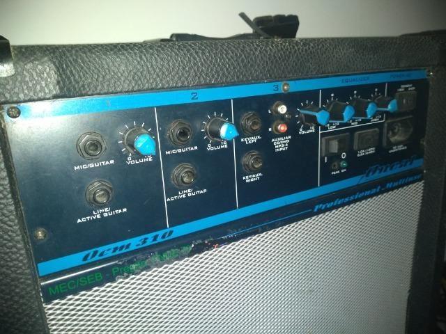 Contra-baixo Tagima tbm5 + caixa amplificada