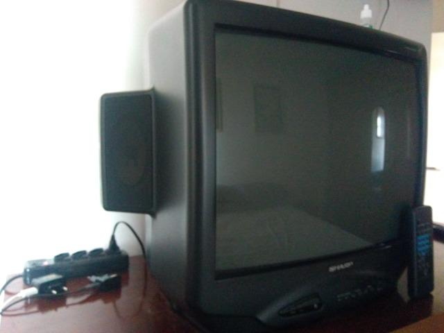 TV tubo 21 pol. Sharp stereo modelo C 2188-B - Foto 2