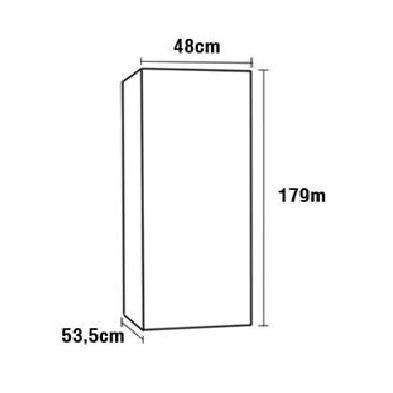 Refrigerador/Expositora Slim 230 Litros Gelopar - Frete Grátis e Pagamento na Entrega - Foto 5