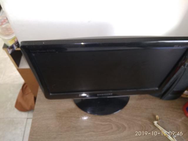Monitor de 15 Samsung e teclado - Foto 2