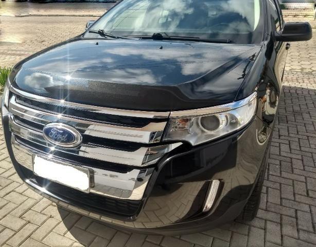 Proprietário vende Ford Edge 3.5 V 6 fwd impecável com Kit Gás 5º Geração ? 2014 /2014 - Foto 5