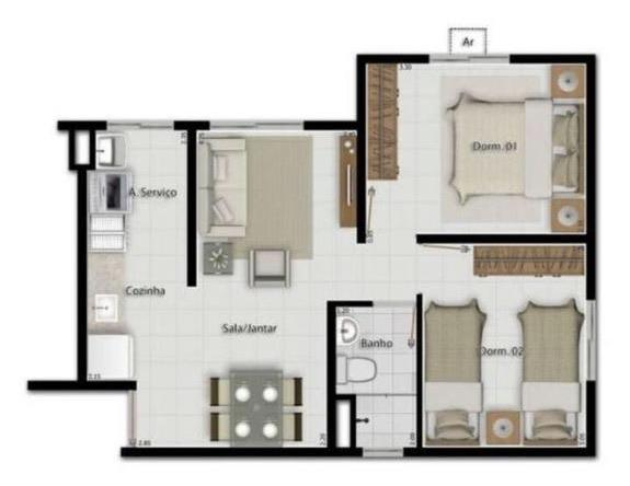 Vendo Apartamento no Ideal BR - Foto 6