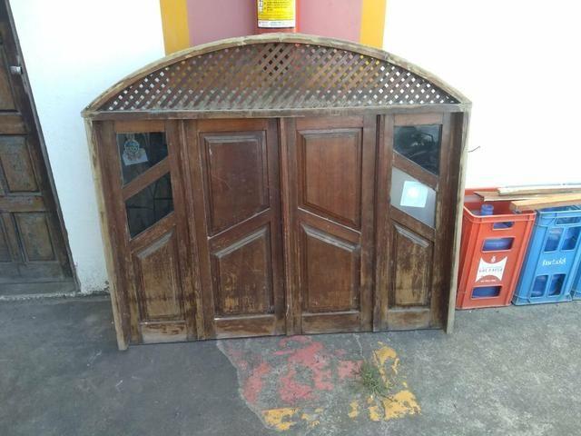 Porta e janela de madeira - Foto 2