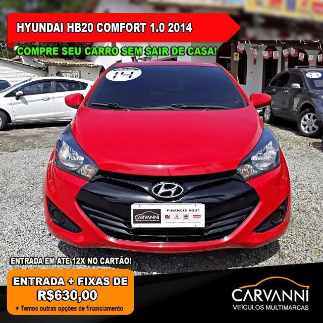 Hyundai HB20 Comfort 1.0 2014 Completo