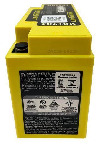 Bateria Agm Motobatt Mbt9b4 Yamaha Xt 660 R Xt 660 Z Tenere Xt 660 X Supermoto R6 96-05 - Foto 2