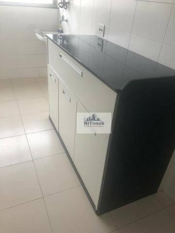 Excelente Apartamento na Mariz e Barros 272 em Icaraí no Condomínio Calle Veronna, com arm - Foto 12
