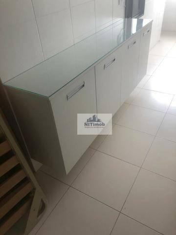 Excelente Apartamento na Mariz e Barros 272 em Icaraí no Condomínio Calle Veronna, com arm - Foto 13
