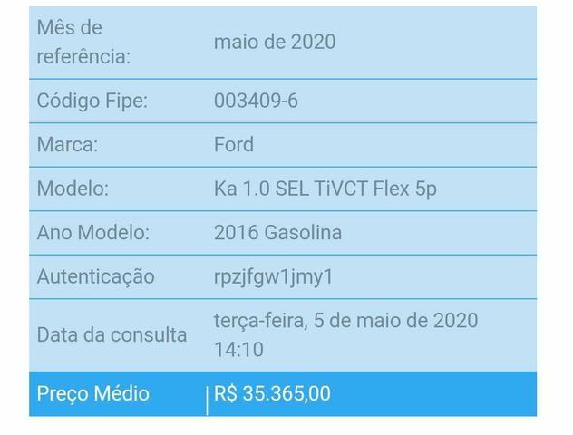 Ford Ka 1.0 SEL - ÚNICA DONA - Foto 12
