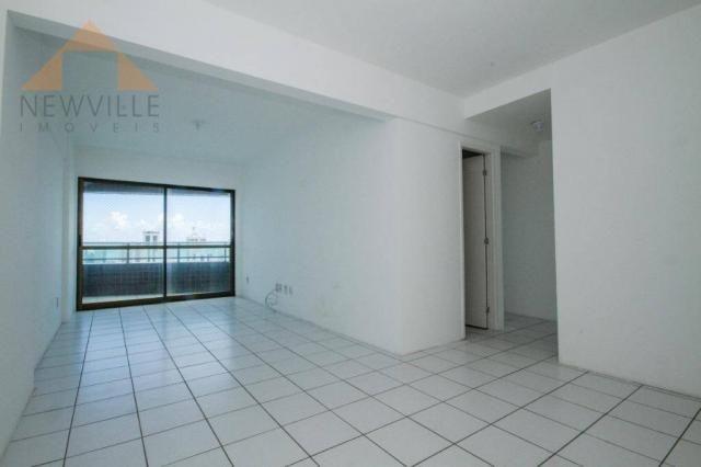 Apartamento com 3 quartos para alugar, 94 m² por R$ 3.785/mês - Boa Viagem - Recife/PE - Foto 2