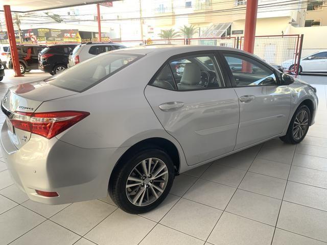 Toyota corolla xei 2.0 flex aut. 2015 prata - Foto 4