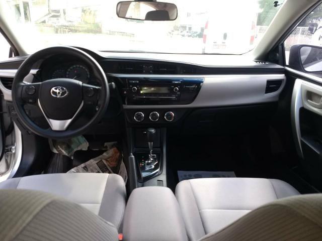 Toyota Corolla Gli 1.8 automatico ano 2015 - Foto 8