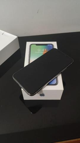 Iphone x 64 gb c/ garantia - impecável - Foto 2