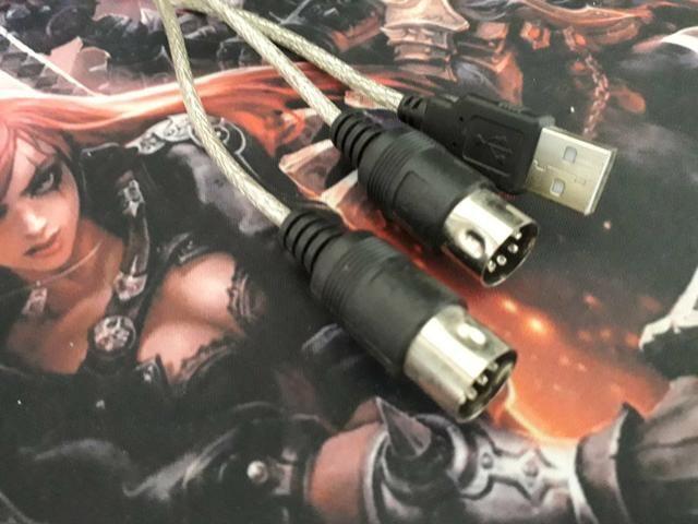 Adaptador USB midi - Foto 2