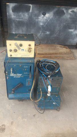 Máquina de solda NT2000 AC DC. - Foto 4