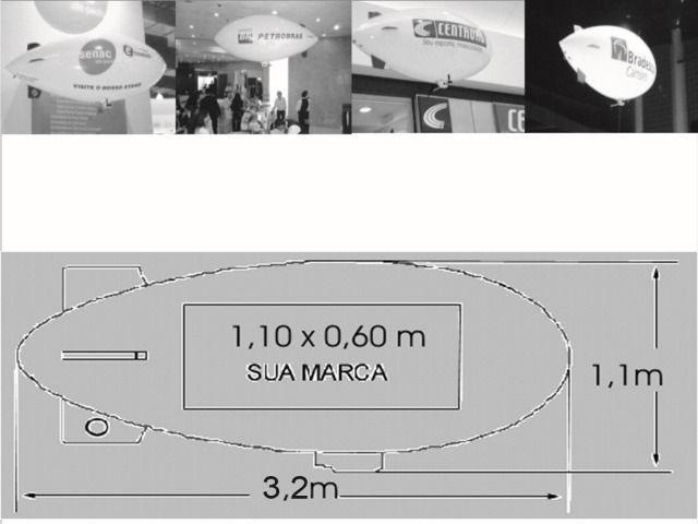 Balão Dirigível Rádio Controlado (Aceito troca do meu interesse) - Foto 6