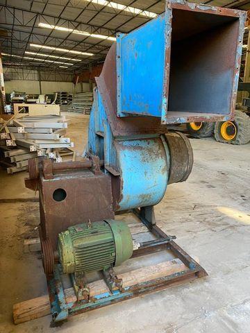 Ventilador exaustor industrial com motor 30 CV 2100 RPM