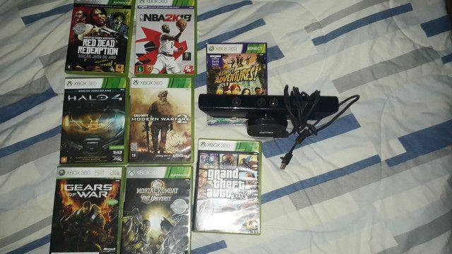 Xbox 360 usado, conservado, uma manete (estado ruim) - Foto 2