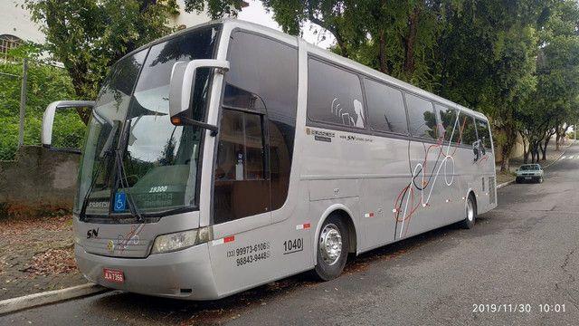 Ônibus Executivo Buscar Rodoviária MB 0500