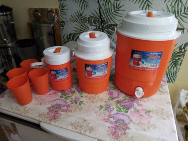 Kit garrafa térmica, produto novo