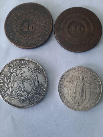 Vendo essas  moeda antiga 400.0reais