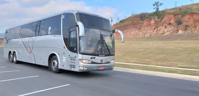 Ônibus Executivo Scania k124 confort ship