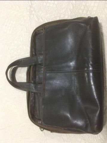 Bolsa para notebook em couro  - Foto 2