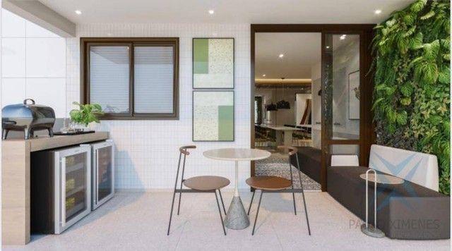 Apartamento compacto à venda, 60 m² por R$ 496.000 - Engenheiro Luciano Cavalcante - Forta - Foto 3