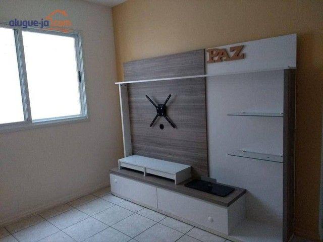 Apartamento com 1 dormitório para alugar, 50 m² por R$ 1.100/mês - Centro - São José dos C - Foto 6