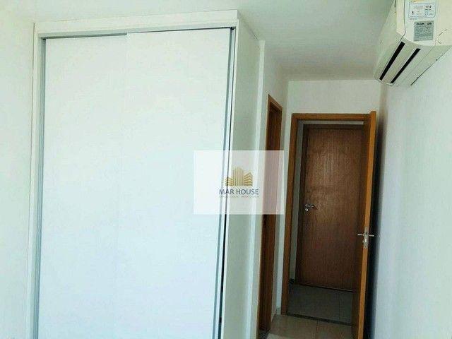 Apartamento com 3 dormitórios para alugar, 81 m² por R$ 3.500/mês - Boa Viagem - Recife/PE - Foto 12