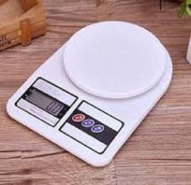 Balança Digital De Precisão 1 Gr Até 10 Kg Para Cozinha e Laboratório - Foto 4